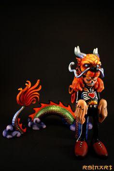 Kid Dragon Custom | Artist: Rsin Art | Image 1 of 4