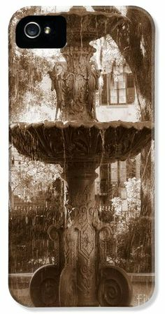 #savannah #sepia #iphonecase #iphonecases #southern #fountains #savannahphonecases #savannahfountain #sepiaphonecases #carolgroenenphonecases #uniquephonecases #phonecases #phonecase