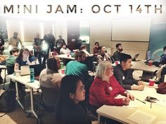 From @voltaeffect  Enjoyed #Hackathon001? Wanted to go but couldn't? We've got you covered -- Sign up now for October's Mini Jam at Volta & put your imagination to the test Tickets available now on Eventbrite.