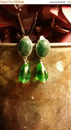 Check out this item in my Etsy shop https://www.etsy.com/listing/453687042/summer-clearance-sale-zoisite-earrings