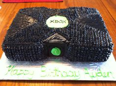 Xbox cake- For all your cake decorating supplies, please visit craftcompany.co.uk
