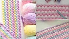 Miniklere tığ işi ile örgü bebek battaniyesi yapılışı. Sizlerde bebeklerde, çocuklarda veya yetişkinlerde kullanabileceğiniz bebek battaniyesini tığ işi Crochet Angel Pattern, Pop Corn, Learn To Crochet, Baby Knitting Patterns, Crochet Stitches, Diy And Crafts, Blanket, Tuna, Origami