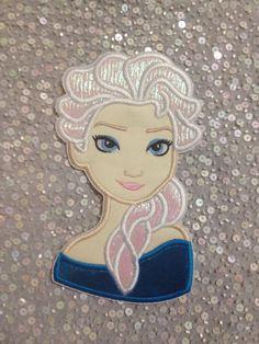 Iron on Applique Frozen's Elsa iron on applique  by EmbroiderMe2, $8.50