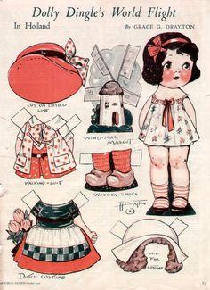 dolly dingle | Dolly Dingle Paper Dolls