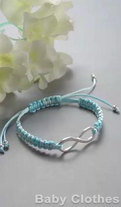 Diy Friendship Bracelets Patterns, Diy Bracelets Easy, Braided Bracelets, Ankle Bracelets, Handmade Bracelets, Diy Beaded Bracelets, Diy Bracelets For Boyfriend, Macrame Bracelet Patterns, Macrame Bracelet Tutorial