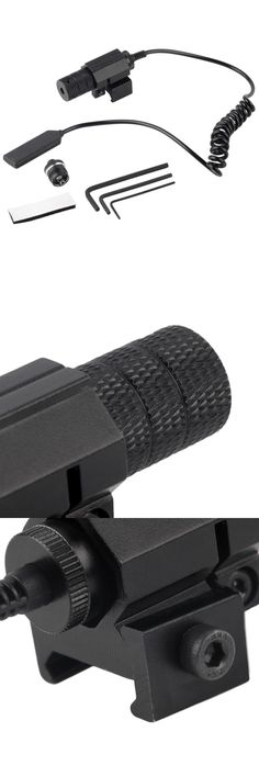 [Visit to Buy] 1Sets Tactical red dot Mini Red Laser Sight With Tail Switch Scope Pistol with Lengthen Rat Tail Hunting Optics free shipping #Advertisement