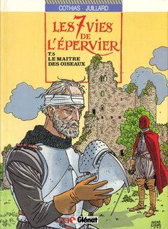 Couverture de Les 7 Vies de l'Épervier -5- Le maître des oiseaux - 1989
