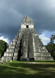 Tikal in Guatemala... the famous Mayan city. January 2006