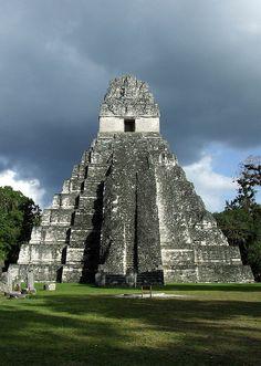 Tikal in Guatemala... the famous Mayan city. January 2006