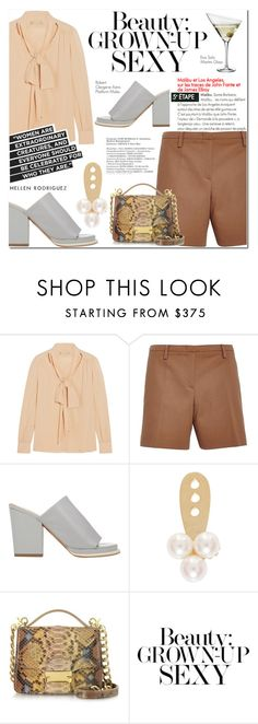 """""""Page 16/11"""" by lali22 ❤ liked on Polyvore featuring Michael Kors, N°21, Robert Clergerie, Yvonne Léon, Ghibli, Eva Solo and Burberry"""