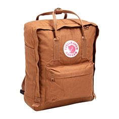 Backpack, colour: Brick // Fjällräven Kanken