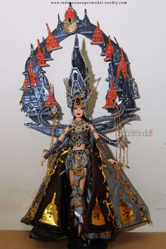 Miss Universe Indonesia National Costume