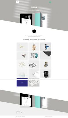 Flamingo - Agency & Freelance Portfolio Theme by Zizaza - design ocean , via Behance