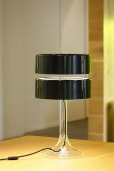 Crealev makes lamps that use opposing magnets to float the top section in the air.