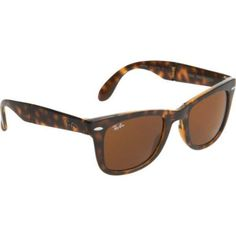 21d288e1be Ray-Ban Folding Wayfarer - Brown Cheap Ray Ban Sunglasses