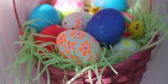 Neon Easter Eggs Tutorial | Alphamom
