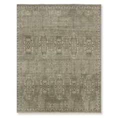 Haghpat Hand Knotted Rug, Gray #williamssonoma