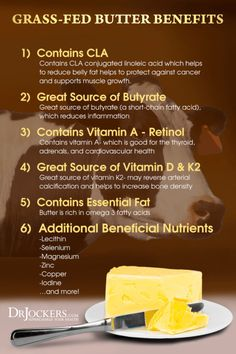 Butter is not the artery-clogging bad guy many people claim it to be. In fact, consuming grass fed butter on a ketogenic diet can have several benefits. Nutrition Plans, Diet And Nutrition, Best Magnesium, Calm Magnesium, Magnesium Benefits, Fat For Fuel, Cancer Fighting Foods, Grass Fed Butter, Fat Burning Foods
