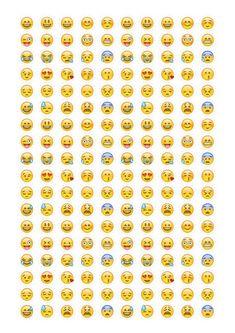 Emoji Stickers Instant y Emoticons by Nentra Smiley Sticker, Emoji Stickers, Printable Stickers, Printable Paper, Planner Stickers, Smileys, Emoticons, Party Emoji, Image Smiley