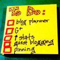 Organizing Your Blog and Social Media by Lady Blogger @ www.ladyblogger.net