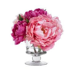 BLOOMS by Diane James Pink Peony Bouquet