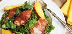 Prosciutto Wrapped Chicken Salad With Pesto Vinaigrette   Living Loving Paleo