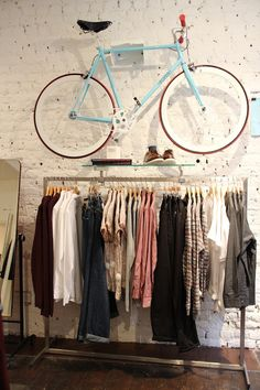 Topman General Store #bike #clothes #men #fashion #store #london #coventgarden