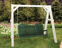Vinyl A-Frame and 5′ AD Swing