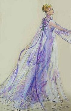 Costume Sketch for Lucy by Elois Jenssen, via Flickr.