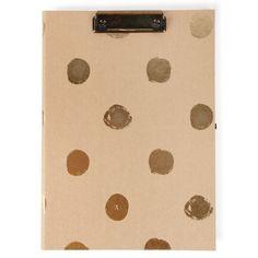 Big spot kraft padfolio - Filing Accessories - 4 For 3 Filing & Storage - Stationery