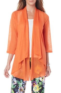 A lightweight knit kimono jacket is great for those cool spring nights. With so many color choices it's hard to pick a favorite!