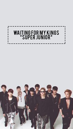 You are my best friend's. I'll always wait and love you #SuJu