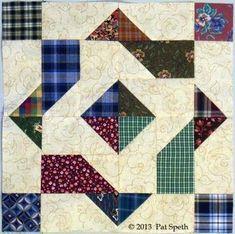 """Huckleberry Finn"" block -- Pat Speth"