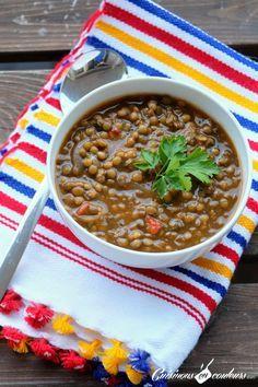 Lentilles a la marocaine