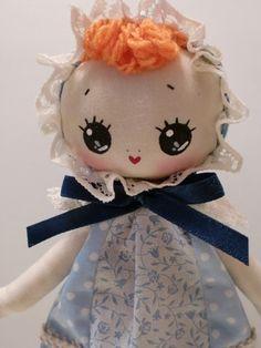 Japanese Vintage Pose Doll Mikako, Bunka Doll, Big Eyes Dolly