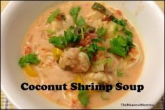Coconut Shrimp Soup Recipe