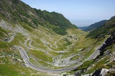This road is located in the Carpathian Mountains and pierces the Făgăraș massif. It reaches a height and is the tallest road in Romania. Transfăgărășan is known for its gorgeous sights and its danger. Tour Around The World, Around The Worlds, Dangerous Roads, Carpathian Mountains, Group Tours, Travel Tours, Bucharest, Horseback Riding, Bolivia