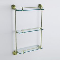 Oil Rubbed Bronze Antique Finish 3-tier Shelf with Satin Glass http://ltpi.co.nf/?item=308098