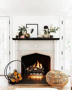 #FeelingFall: 7 Ways to Warm Up Your Minimal Mantelscape – One Kings Lane — Our Style Blog