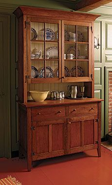 Build A Country Hutch Fine Woodworking Article
