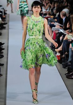 Oscar de la Renta Resort 2013 - Runway  Collections - Vogue