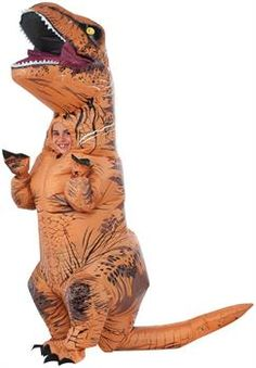 PartyBell.com - Jurassic World: T-Rex Inflatable Child Cosutme