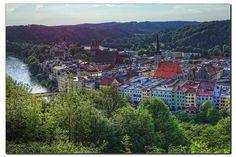 Abends in Wasserburg by Helmut Reichelt, via Flickr