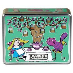 Ma collection Alice in wonderland 9058ff28685c737ad3f018e5181546c3--tea-box-tea-tins