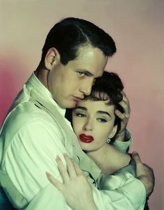 "Vintage Glamour Girls: Ann Blyth & Paul Newman in "" The Helen Morgan Stor..."