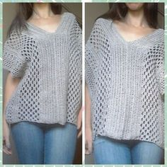 Bata Fashion em Croche. Fashion Crochet Cover up