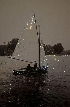 Lighted sail