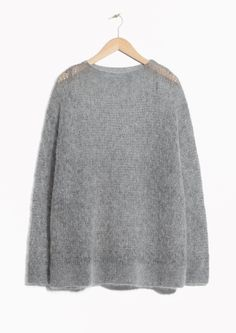 & Other Stories | Fuzzy Mohair Blend Knit 700 kronor