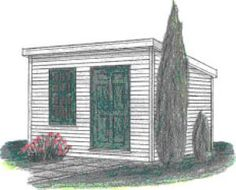 Build a New Storage Shed with One of These 23 Free Plans: Build a 10X8 Storage Shed With This Free Shed Plan