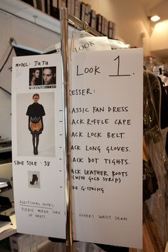 Look board for model, show World Of Fashion, Fashion Show, Fashion Design, Backstage, Photoshoot Bts, Long Gloves, Makeup Rooms, Beauty Shoot, School Fashion